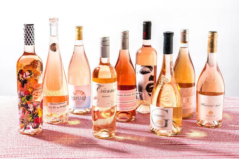 Những chai rượu vang dành cho phụ nữ