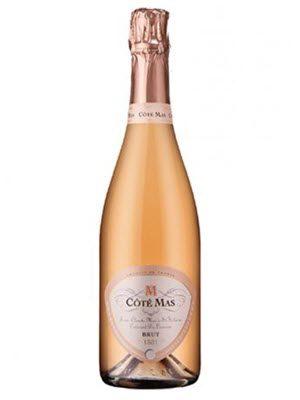 Rượu vang Pháp - Cote Mas Cremant De Limoux Rose Brut