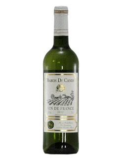 Rượu vang Pháp - Baron De Cande Blanc