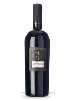 Rượu vang Ý - Uno Primitivo Di Manduria Riserva (Nhãn đen)