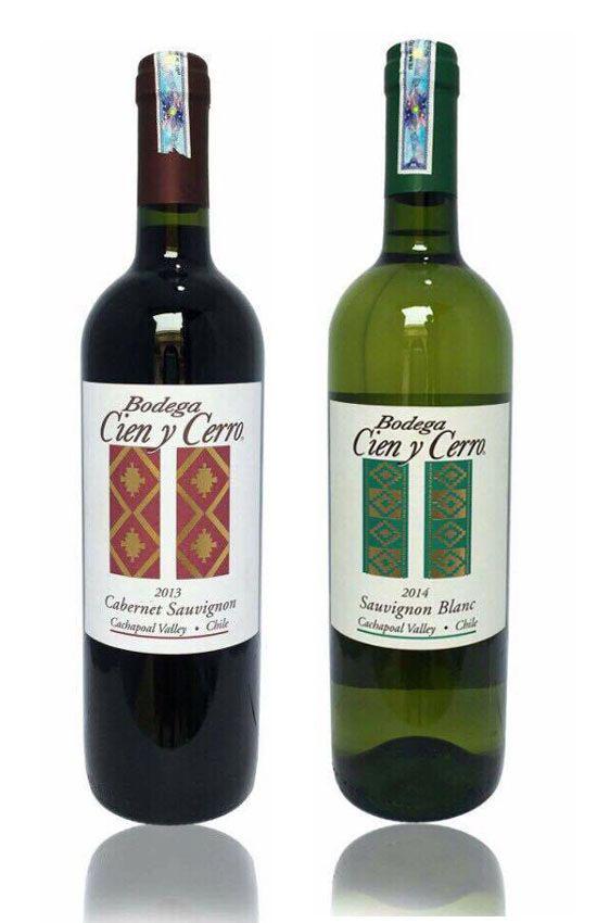 rượu vang Chile - Bodega Cien y Cerro Cabernet Sauvignon