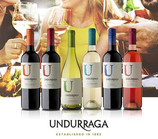 Rượu vang Chile - Undurraga Varietales