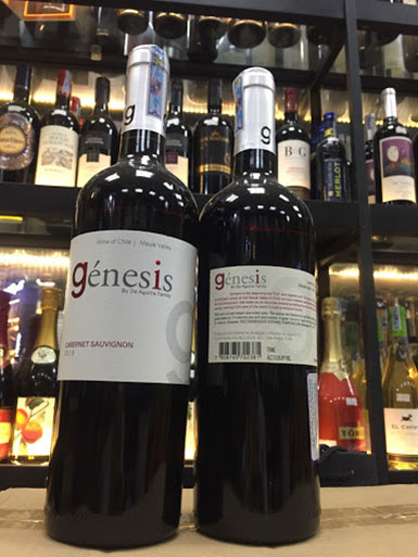 rượu vang Chile - Genesis Cabernet Sauvignon