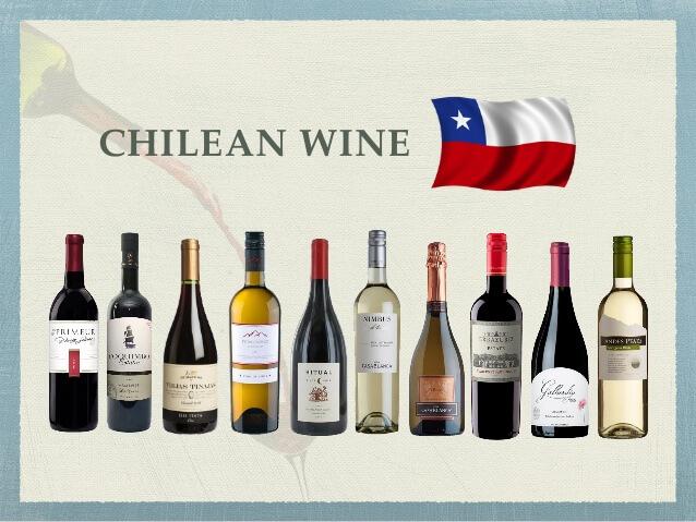 Rượu vang của chile