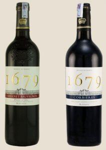 Rượu vang Pháp - 1679 Corbieres Rouge Reserve 1
