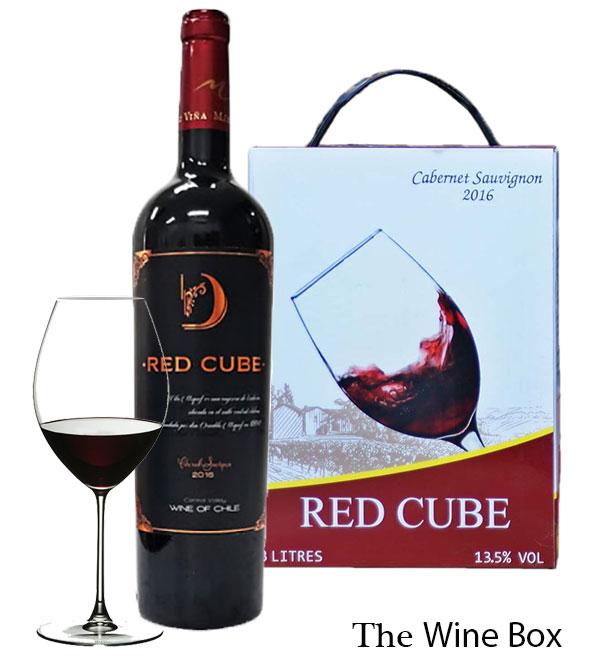 rượu vang Red Cube Cabernet Sauvignon