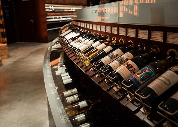 cửa hàng rượu vang