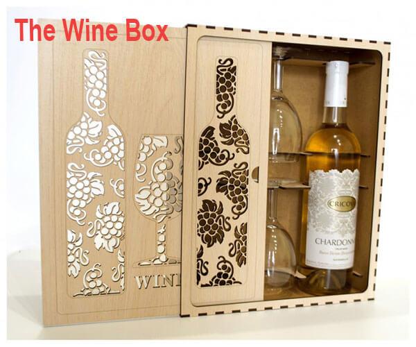 hộp quà rượu vang THe Wine Box