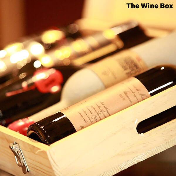 hộp quà rượu vang theo phong thủy