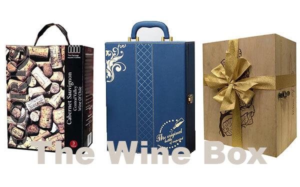 hộp quà tặng rượu vang The Wine Box