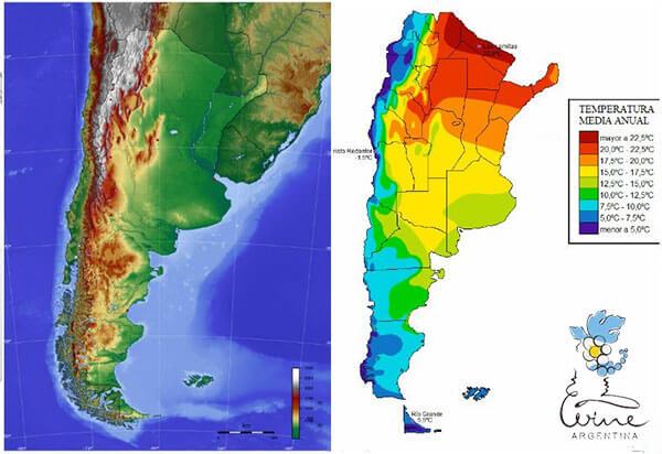 khí hậu vùng Argentina