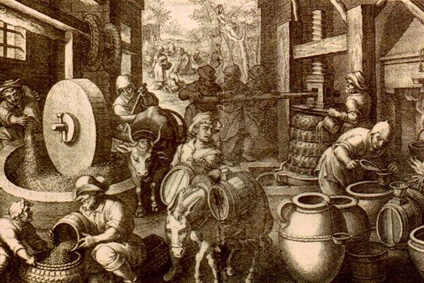 lich sử ngành công nghiệp rượu vang Đức