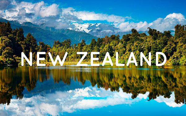 Địa hình đất nước New Zealand