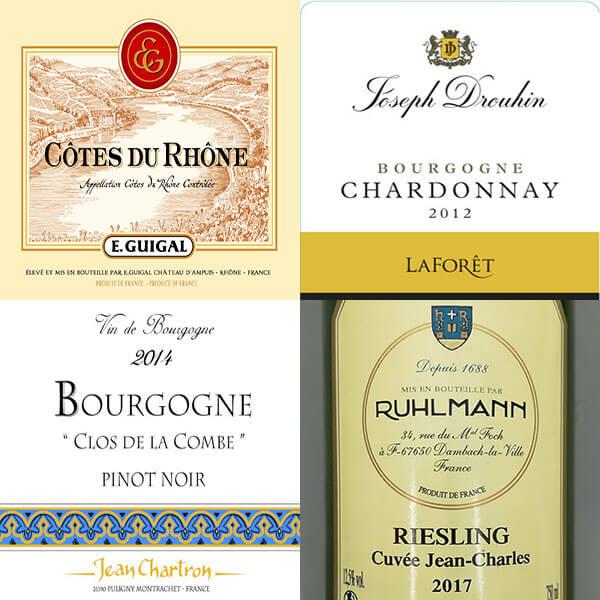 nhà sản xuất rượu vang Pháp