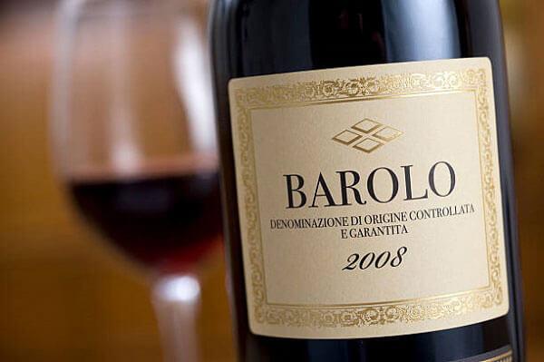 Rượu vang đỏ Barola