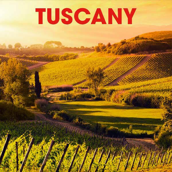 vùng Tuscany