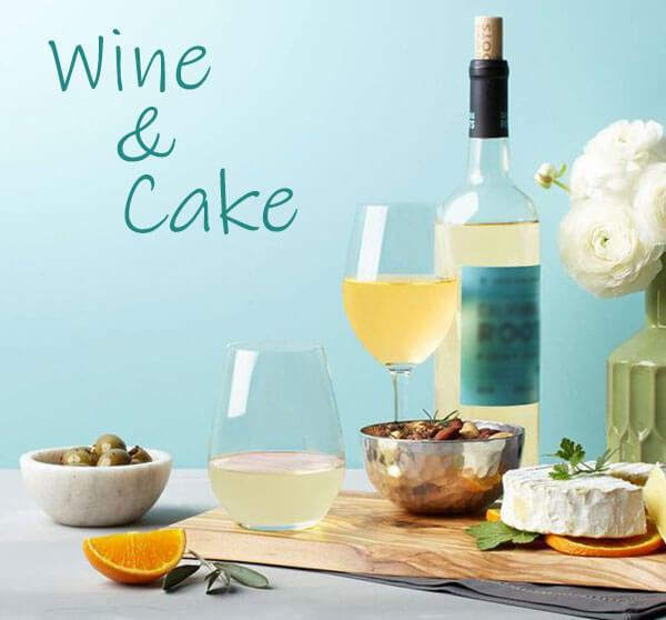 rượu vang ngọt Pháp và bánh ngọt