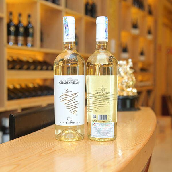 Vang trắng Chardonnay