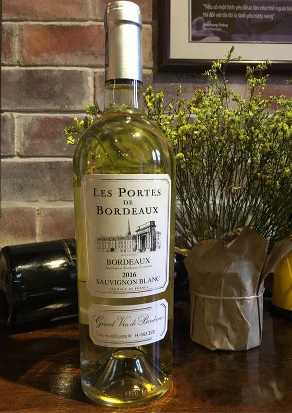 Vang trắng Sauvignon blanc