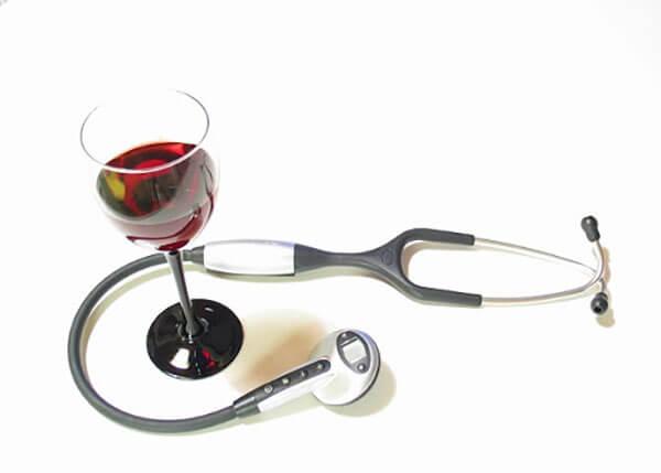 Công dụng của rượu vang đỏ
