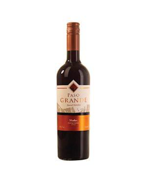 Rượu vang Chile - Paso Grande Merlot Red