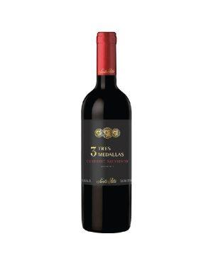 Rượu vang Chile - Santa Rita 3 Tres Medallas