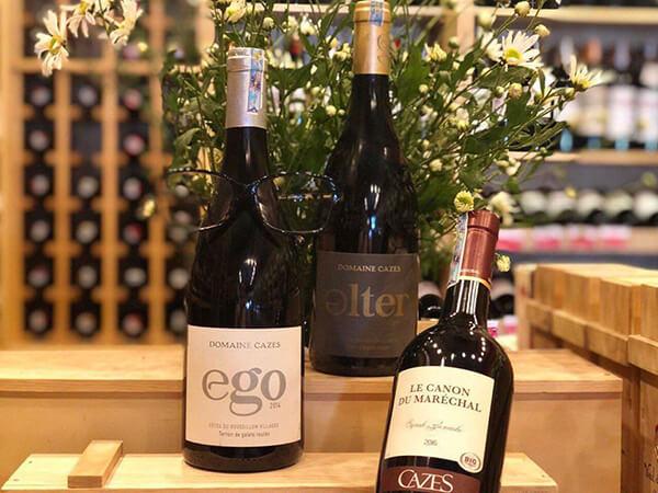 Vang Cazes Ego Côtes du Roussillon Villages