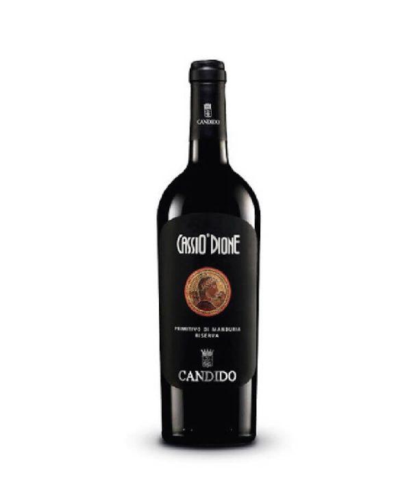 Rượu vang Ý - Cassio Dione DOC Primitivo Di Manduria Reserva