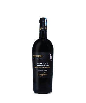 Rượu vang Ý - Sisma 18 Primitivo Di Manduria 2016 Dop