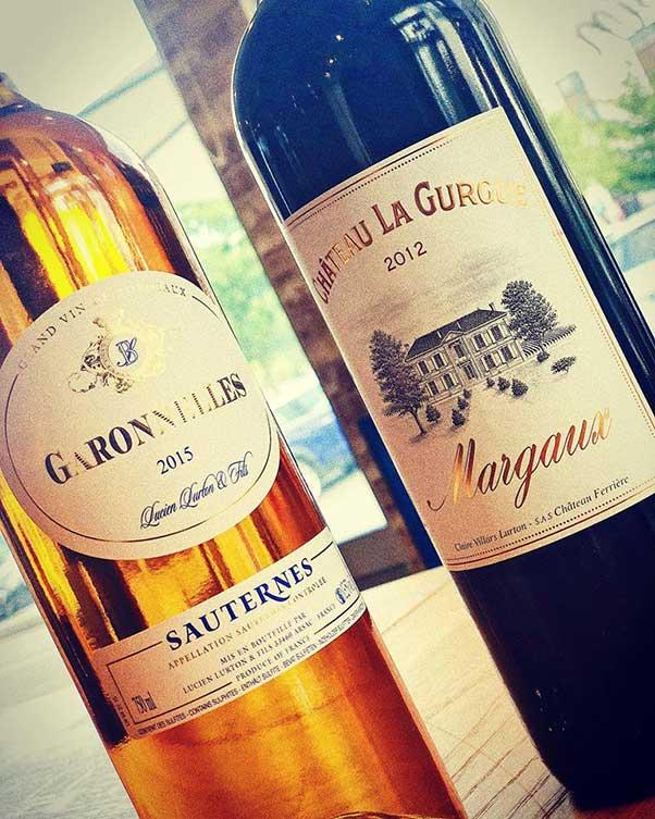 Rượu vang đỏ Chateau La Gurgue Margaux