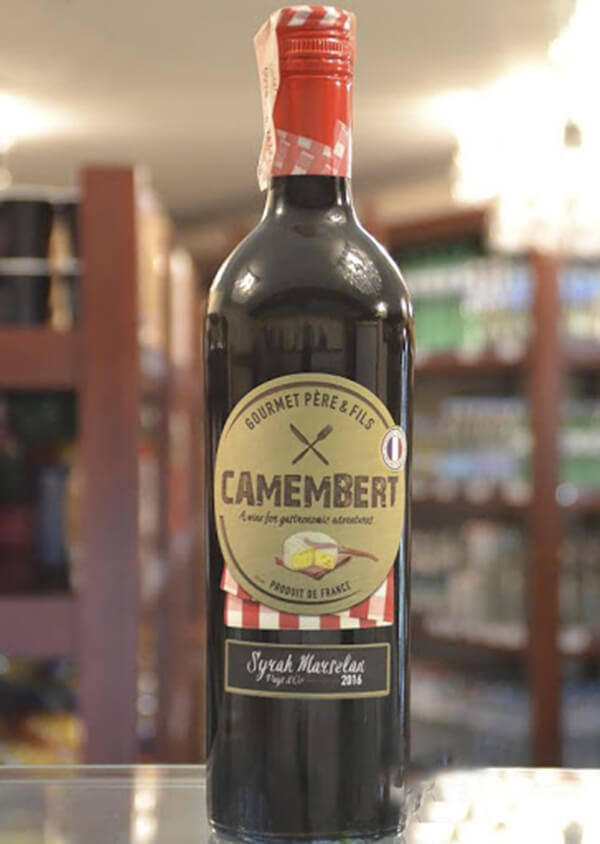 Vang Pháp Camembert Syrah Marsenlan VDP