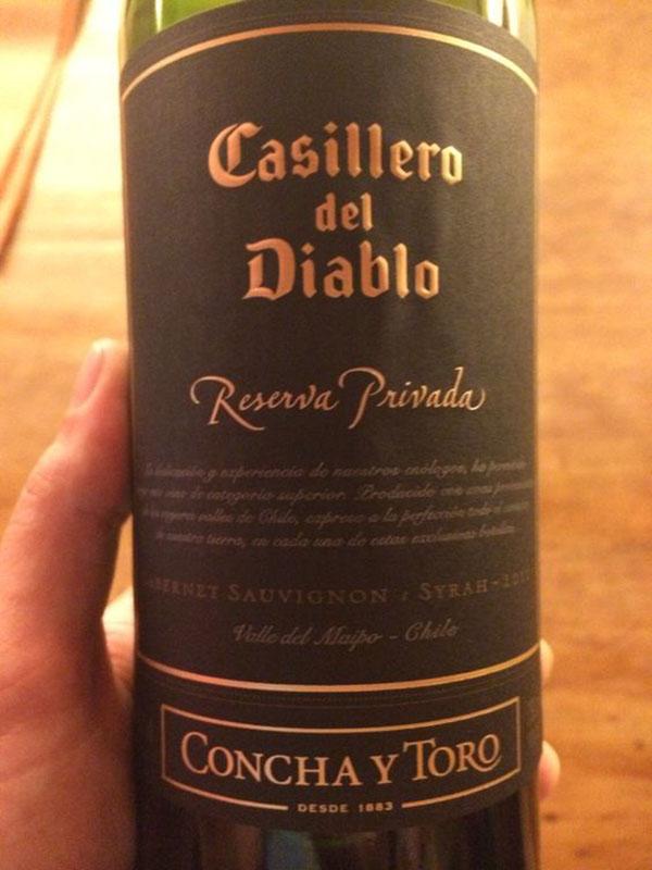 Vang Chile Casillero Del Diablo Reserva Sauvignon Blanc