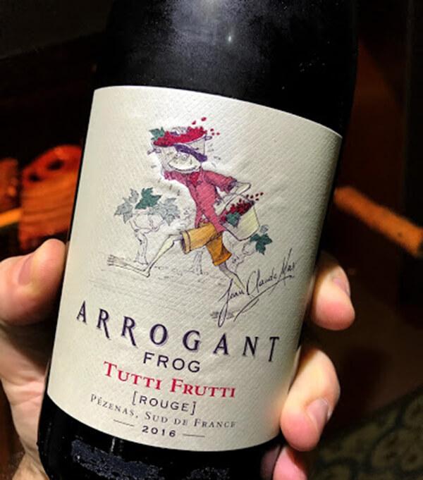 Vang Pháp Arrogant Frog Tutti Frutti - Red