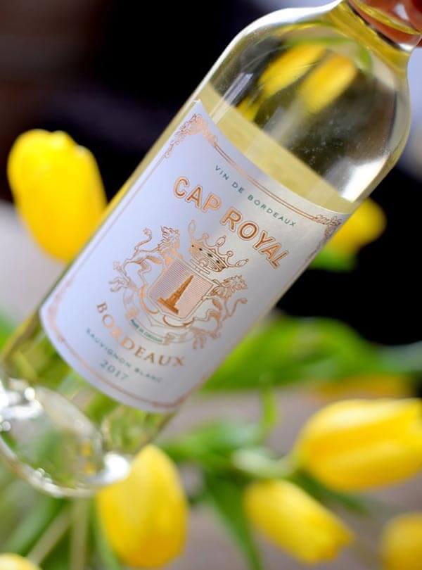 Vang trắng Cap Royal Bordeaux Sauvignon Blan