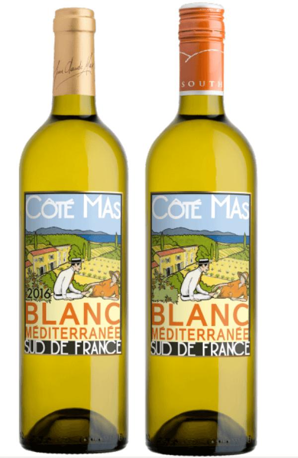 Vang trắng côte mas blanc mediterranee