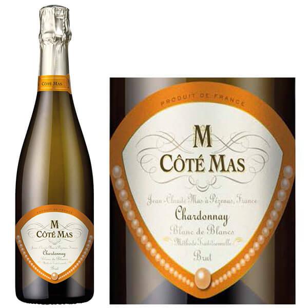 Vang trắng Cote Mas Chardonnay Blanc De Blancs