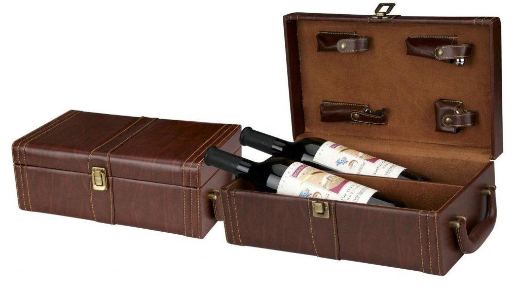 Top hộp da đựng rượu vang lịch lãm, sang trọng nhất 2