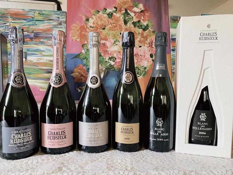 Vang Charles Heidsieck Brut Réserve Champagne
