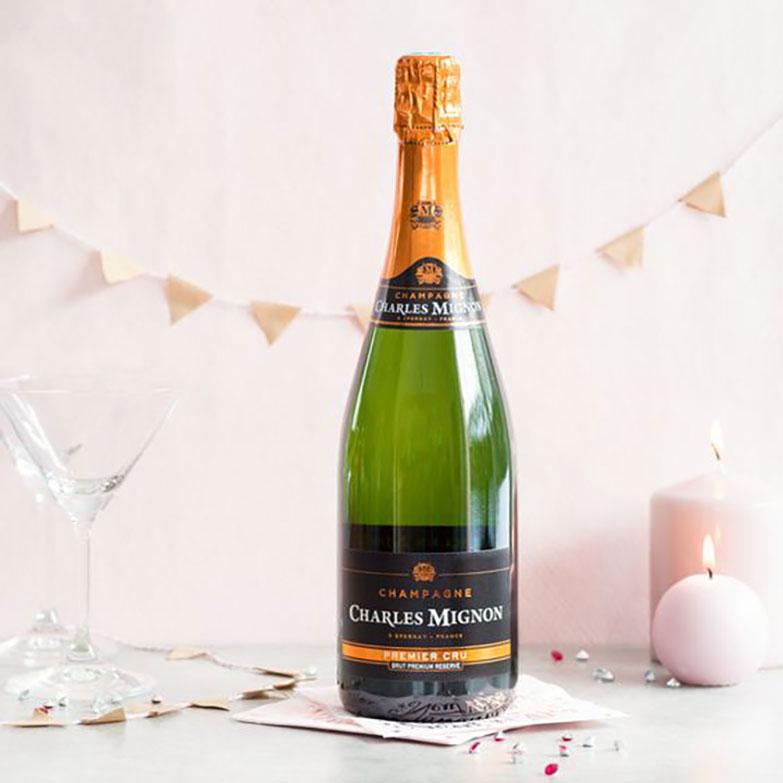 Vang Charles Mignon Premium Reserve Brut Champagne