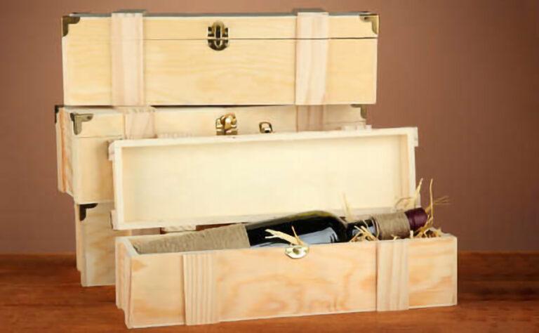 hộp rượu gỗ giá rẻ