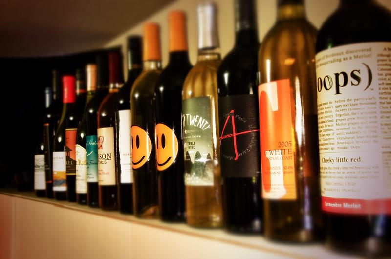 những dòng rượu vang nhập khẩu