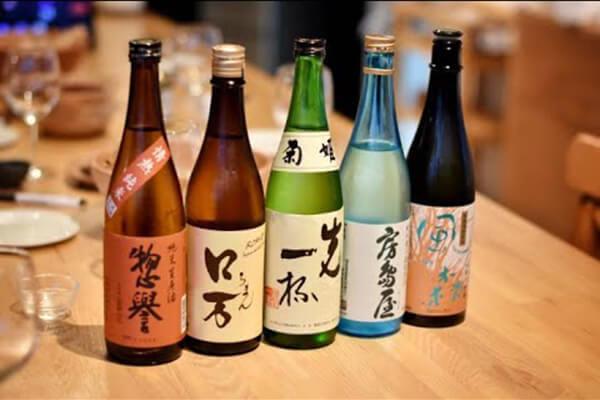 Các loại rượu Sake phổ biến của Nhật