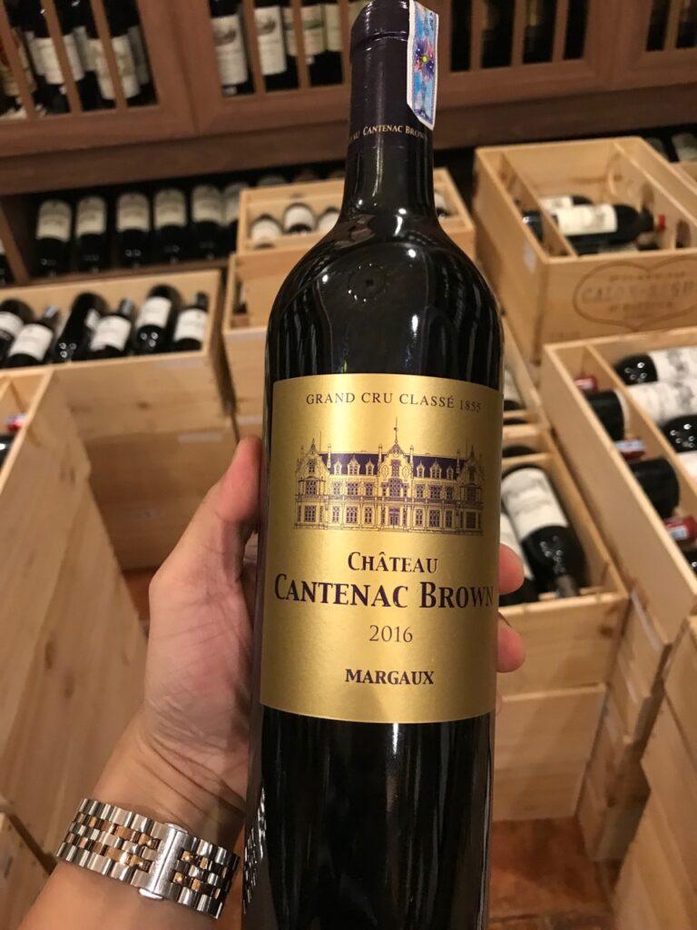 rượu vang cao cấp Château Cantenac Brown BriO De Cantenac Brown Margaux