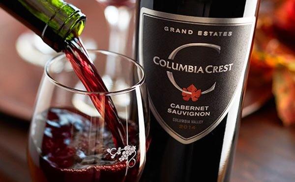 rượu vang mỹ columbia
