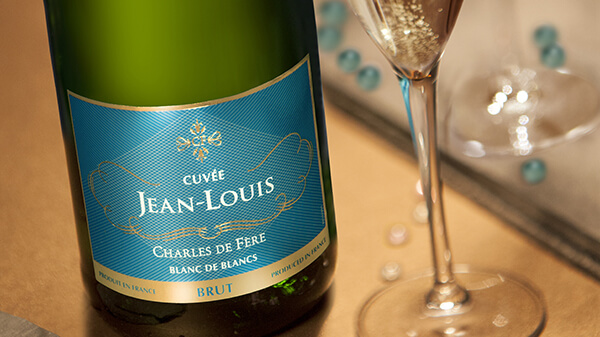 Vang nổ Charles De Fère Cuvée Jean Louis Blanc De Blancs