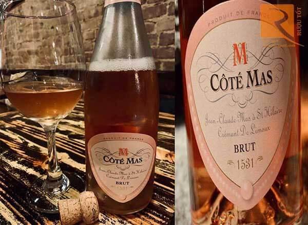 Vang nổ Cote Mas Chardonnay Blanc De Blanc