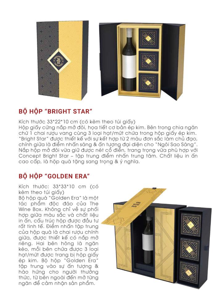 Ý nghĩa của các hộp quà bên thewinebox