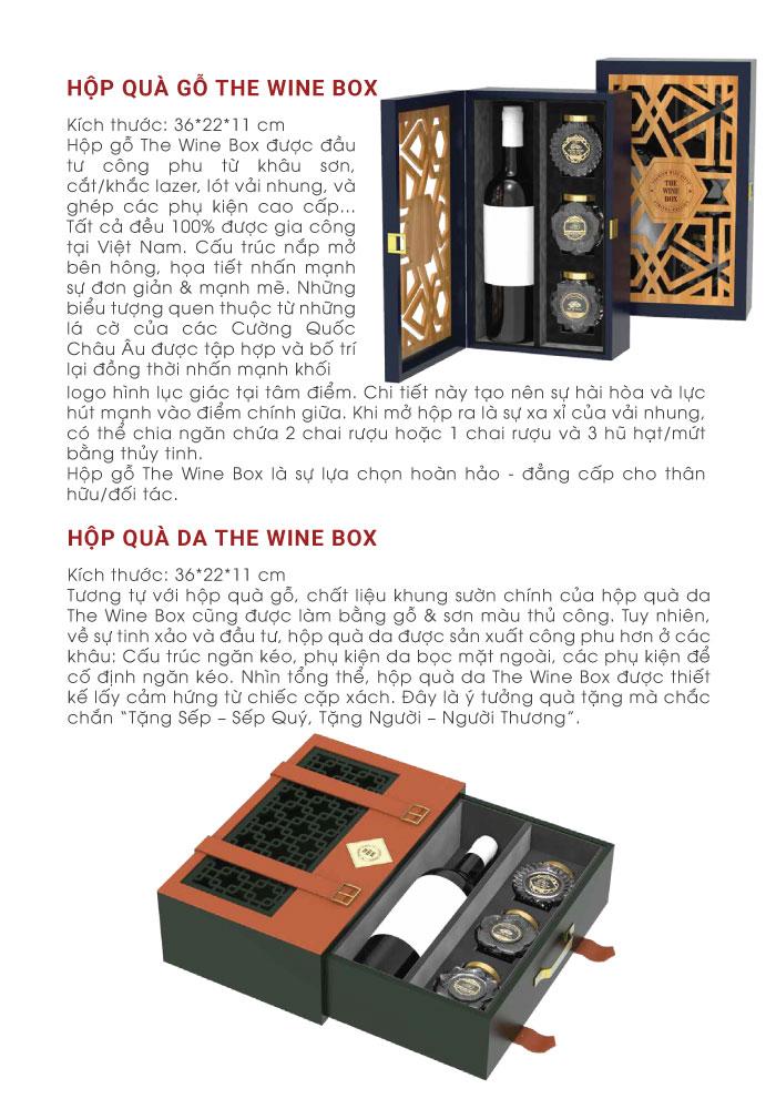 Ý nghĩa của các hộp quà bên thewinebox 2