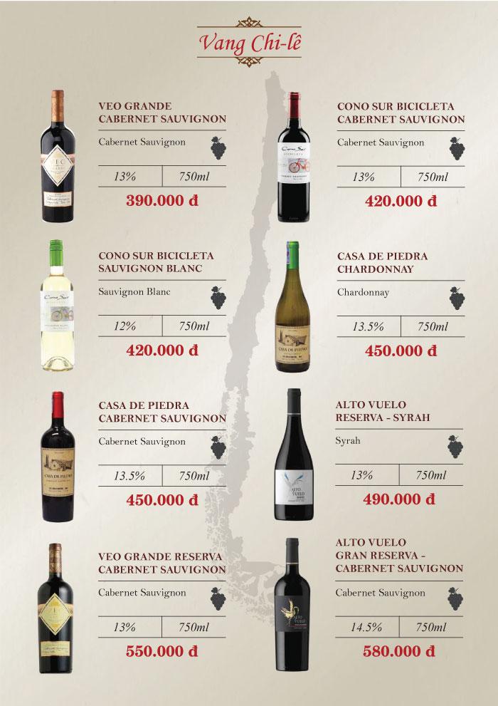 15+ chai rượu vang giá rẻ ngon dưới 200k, 300k 15