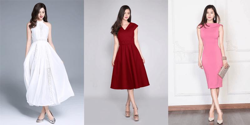 váy tặng sếp nữ